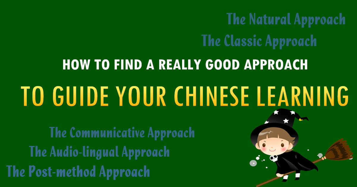 Find A Really Good Approach To Guide Your Chinese Learning