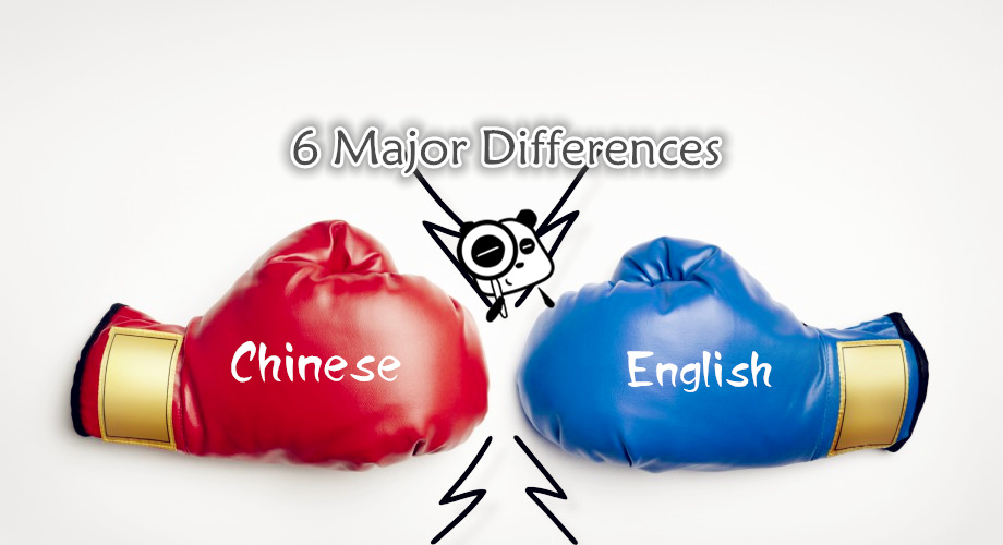 Difference Between Chinese And English