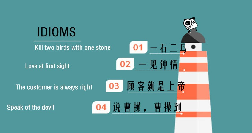English Idioms With Chinese Origins