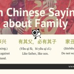 10 Chinese Proverbs About Family