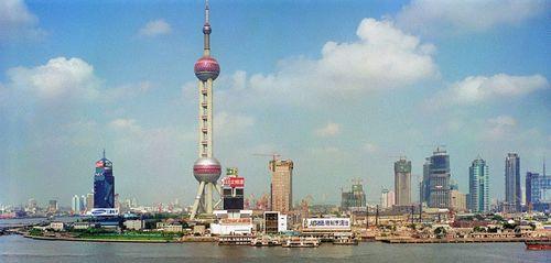 Shanghai China, 2000