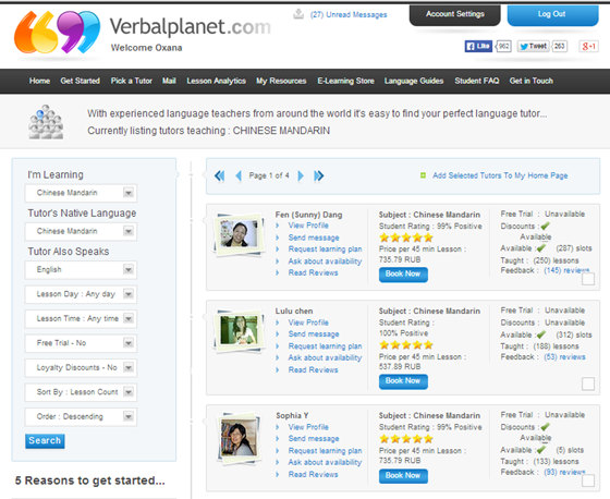 Learning Mandarin online with Verbalplanet