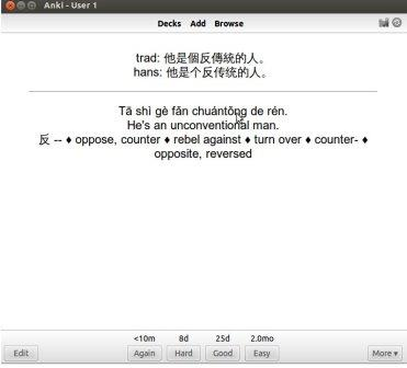 Anki Increase Chinese vocabulary