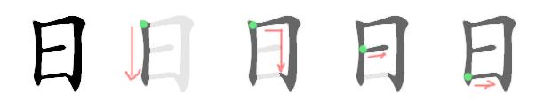 Stroke Order: Enclosures before content