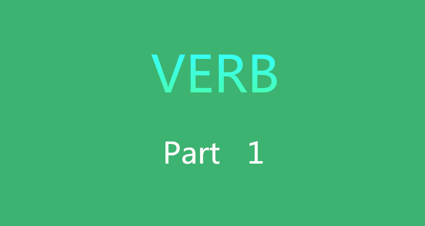 Learn Chinese Vocabulary In An Easy Way – Verbs Part 1