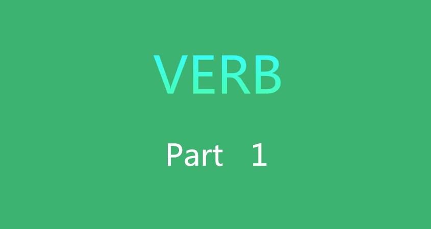 Verb 1