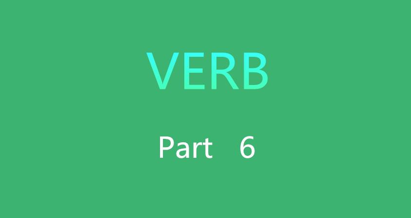 Verb 6
