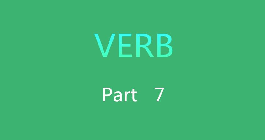 Verb 7