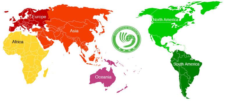 Confucius Institutes Around the World