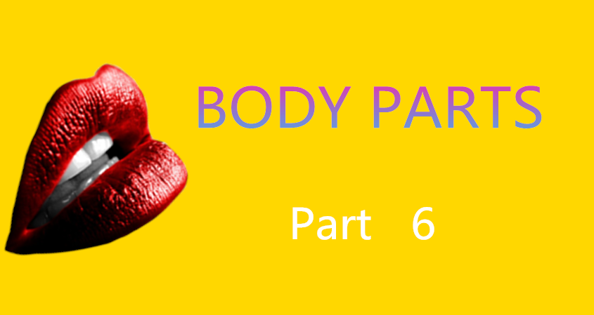 Learn Chinese Vocabulary In An Easy Way – Body Part 6