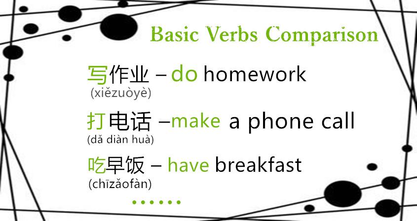 BASIC VERBS COMPARISON
