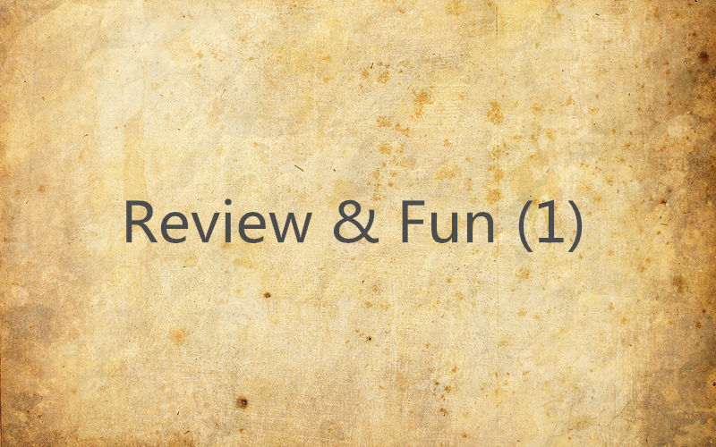 Review & Fun (1)