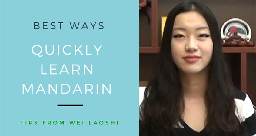Way To Learn Mandarin