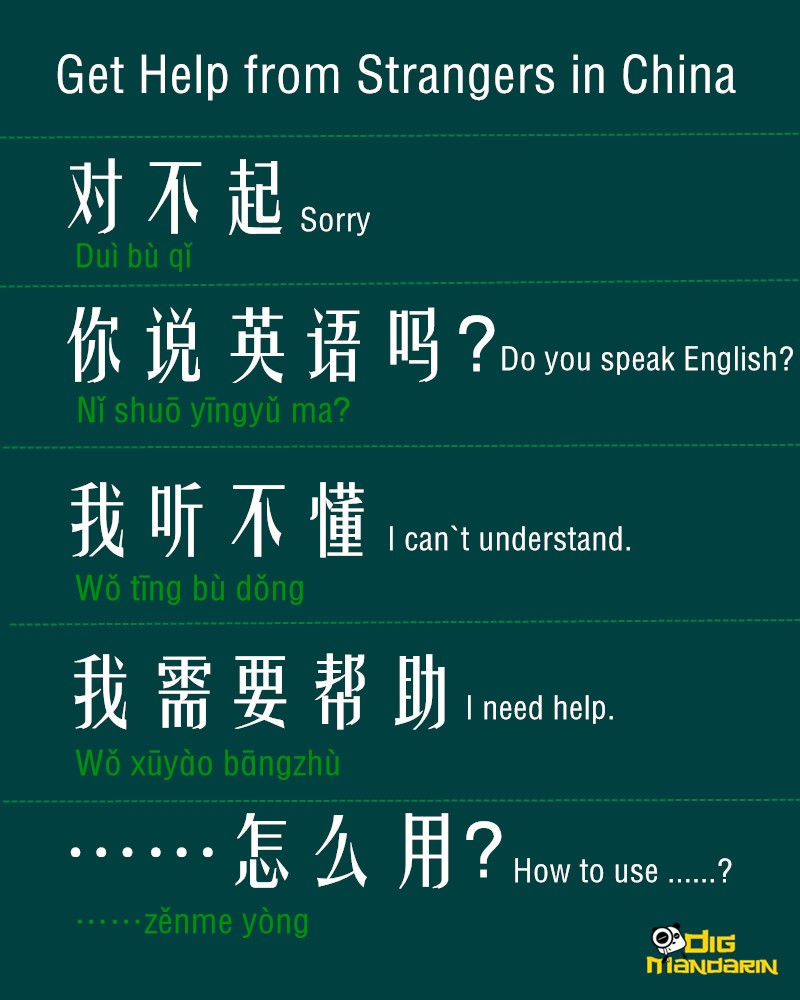 get helpfrom strangers in china
