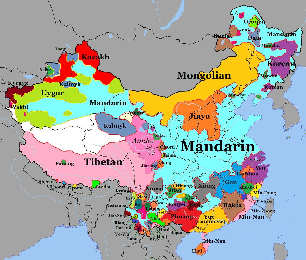 languages-in-china