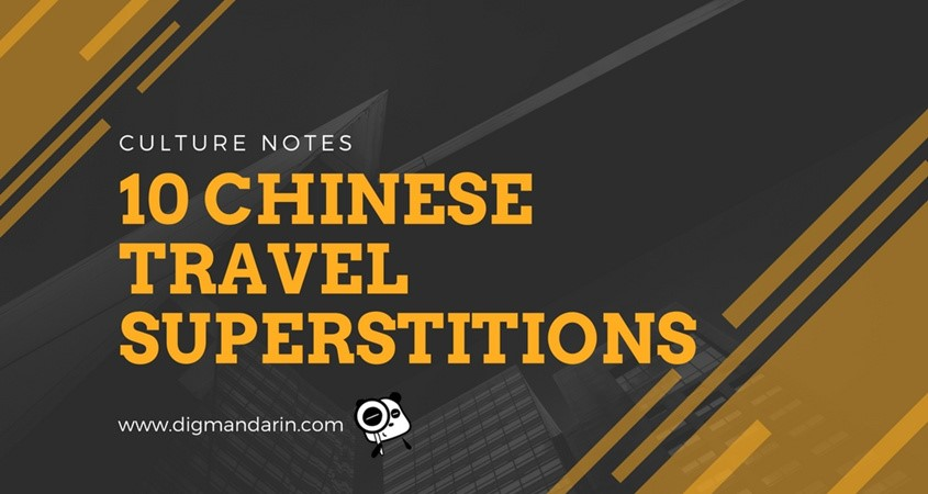 Chinese Travel Superstitions