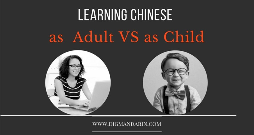 Learn Chinese Child Vs Adult