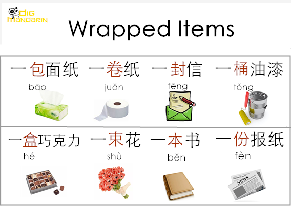 wrapped item