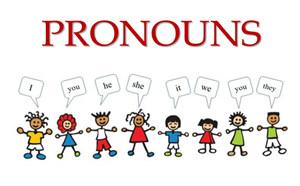 Pronouns Flashcards