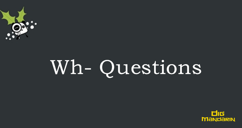 The Summary Of Wh-Questions In Chinese