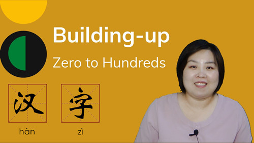 Character Course B: Building-up Hundreds of Chinese Characters